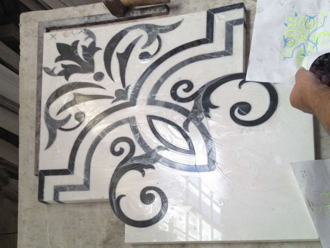 marble floor inlays_017